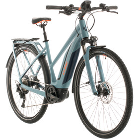 Cube Touring Hybrid EXC 500 Trapez, blue/orange
